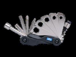 Вело мульті інструмент (касета)- ключі, викрутки,шестигранники KINGTONY 20A17MR