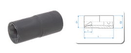 Головка для пошкоджених гайок 19 мм KINGTONY 9TD403-19M