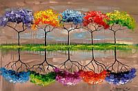 «Каждое дерево имеет свой запах» картина маслом