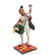 Коллекционная статуэтка Теннисист Forchino, ручная работа FO 84008
