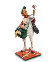 Коллекционная статуэтка Теннисист Forchino, ручная работа FO 84008, фото 1