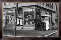 Картина Продуктовый магазин в начале 1900-х, Неизвестен