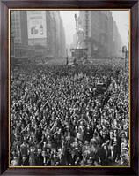 Картина Толпа на Таймс-сквер. Празднование Победы, Неизвестен