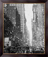 Картина Парад телеграфных лент на Бродвее, Неизвестен