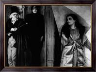 Картина Сцена из спектакля Кабинет доктора Калигари, Неизвестен
