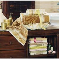 Полотенце ARYA Orient велюр 50x100 см. 1150351 коричневый