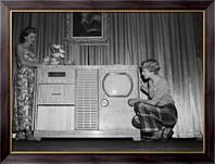 Картина  ТВ-стерео система, Неизвестен