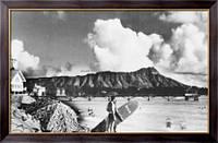 Картина Пляж Вайкики, Неизвестен