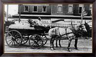 Картина  Первые вагоны-цистерны для нефти, Неизвестен