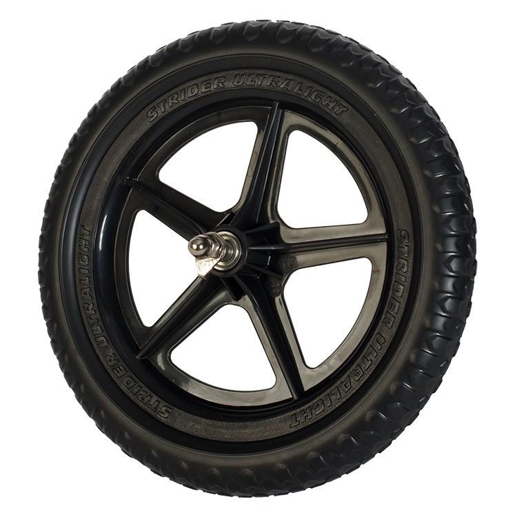 "Колесо Strider 12"" Ultralight Wheel Black (Чёрное)"