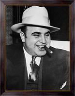 Картина Гангстер Аль Капоне, Неизвестен