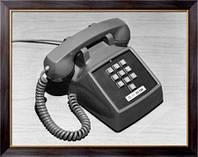 Картина Первый телефонный аппарат с кнопочным тональным набором, Неизвестен