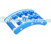 Массажер-прямоугольник роликовый Massage Rope: 8 шариков, 21х35см