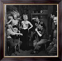 Картина Заказчики и исполнители во французском ночном клубе, Харди, Берд
