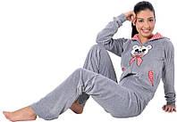 Домашний костюм ARYA женский 1351217 L, Серый