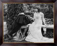 Картина Сцена из спектакля Ромео и Джульетта, Неизвестен