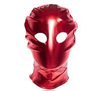 Красная маска для эротических игр фетиш