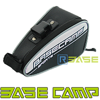 Велосипедная сумка под сиденье BaseCamp BC-303 Серебреная