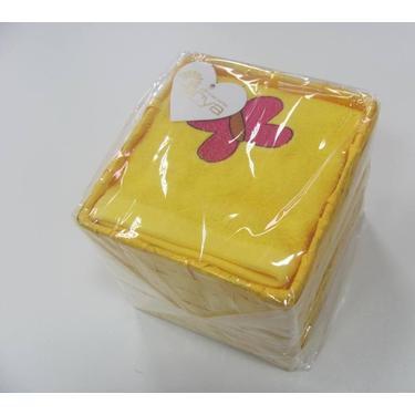 Кухонное полотенце ARYA Butterfly 40x60 см. 4 шт. 1154071 желтый