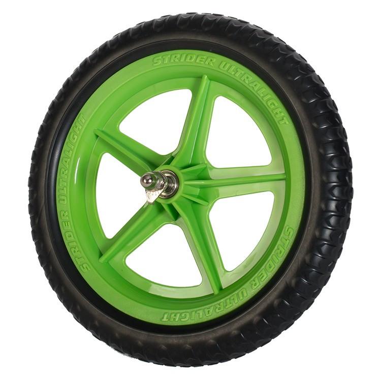 """Колесо Strider 12"""" Ultralight Wheel Green (Зелёное)"""