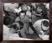 Картина Бен Хоган с журналистами, Неизвестен