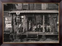 Картина Магазин на перекрестке, Алабама, Ленж, Доротея