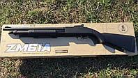 Детское игрушечное ружье дробовик ZM 61A, металл, на пульках, длина 97 сантиметров