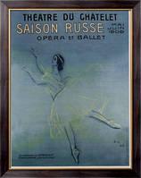 Картина Афиша 1909 , Серов