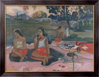 Картина Чудесный источник -  Неф Неф мое (святой источник), Гоген, Поль