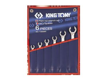 Набір ключів розрізні 6шт. 8-22 мм KINGTONY 1306MR