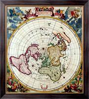 Картина Карта Северного ледовитого океана, Неизвестен