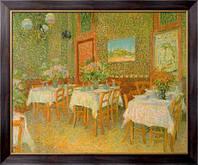 Картина Интерьер ресторана, Гог, Винсент ван