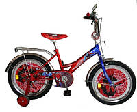 """Велосипед Спайдермен 18 BT-CB-0009 красный с синим, система: """"One piece crank"""""""
