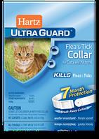 Hartz UltraGuard ошейник для кошек и котят от блох и клещей с застежкой 27 см