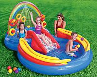 """Детский игровой центр бассейн аквапарк Intex 57453 """"Радуга"""""""