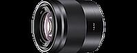 Светосильный качественный портретный объектив SONY E 50 мм F1.8 OSS
