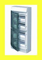 Распределительный щиток навесной Mistral IP65 48M 430x600x155 ABB на 4 ряда