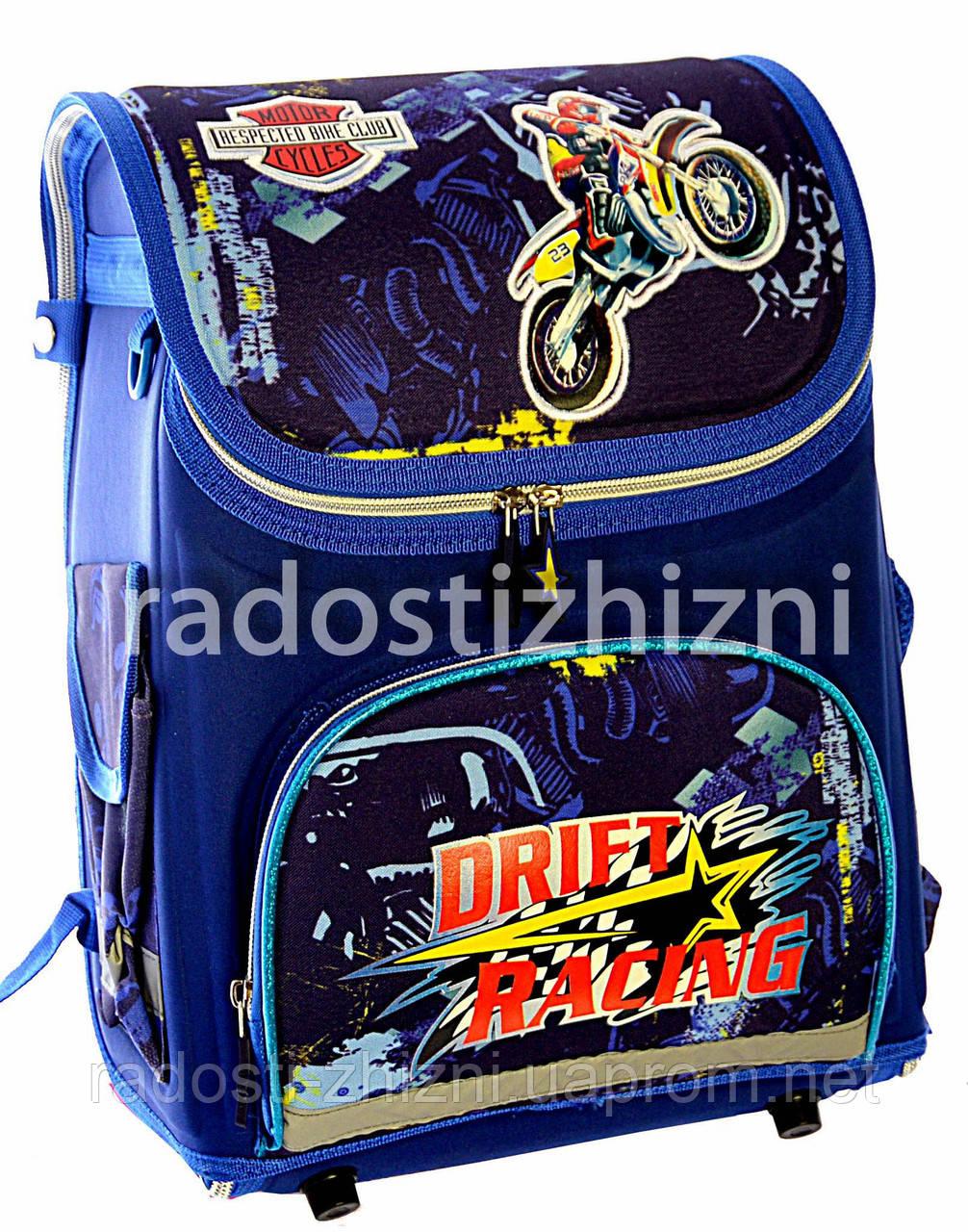 """Ранец ортопедический школьный """"Drift Racing"""" Josepf Ottenn"""