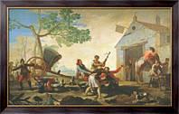Картина Драка, 1777, Гойя, Франсиско Хосе де