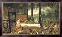 Картина Дегустация, Бреггель, Ян (Старший)