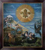 Картина  Совершенство и Правда ведут Людовика XVI, Французская школа живописи