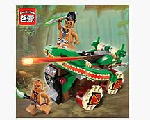 Конструктор Brick 1304 Legendary Pirates Боевая машина 116 дет 