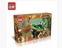 """Конструктор Brick 1304 Legendary Pirates """"Боевая машина"""", 116 дет """