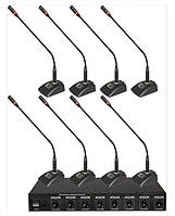Беспроводная конференционая микрофонная система SF-W880
