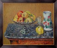 Картина Компот из яблок и кувшин, Луазо, Гюстав