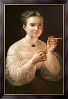 Картина Девушка с папиросой, Заболоцкий, Петр Ефимович
