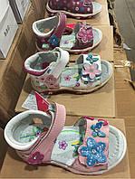 Детские сандалии на липучках для девочек CSCK.S Размеры 21-26
