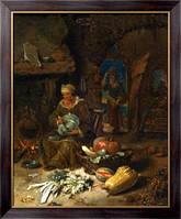 Картина Интерьер кухни, Кальф, Виллем
