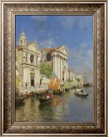Картина Собор Св. Марии Посещения Мария-дель-Росарио, Венеция, Санторо, Рубенс