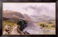 Картина Валлийская долина реки, Мандер, Уильям